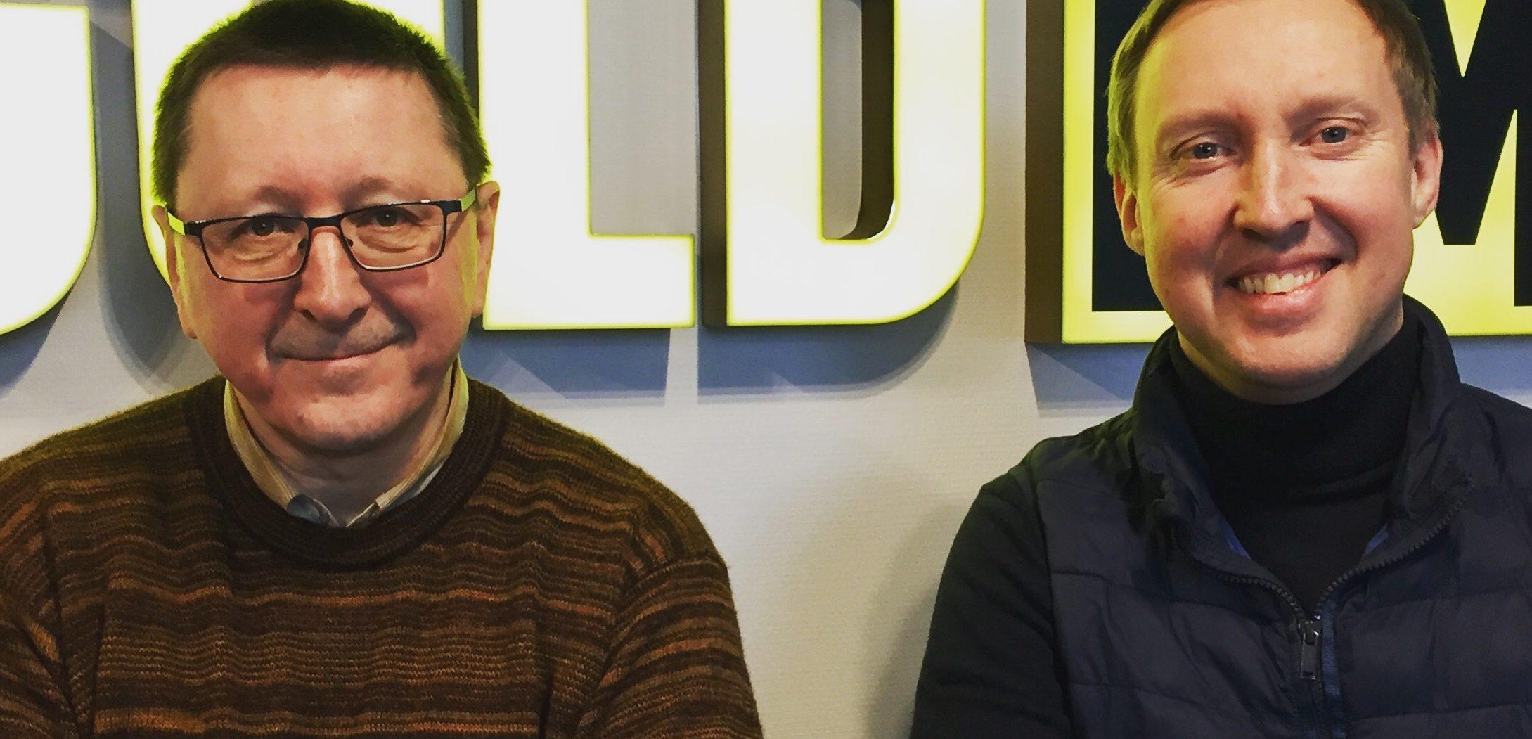 Vytautas Šerėnas (kairėje)